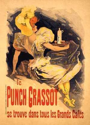 Jules Cheret - Reproduction of a poster advertising 'Punch Grassot', 1895