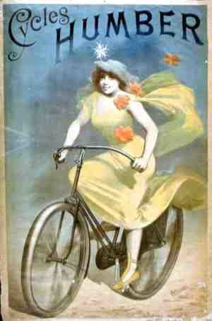 Advertising for 'Humber Cycles'