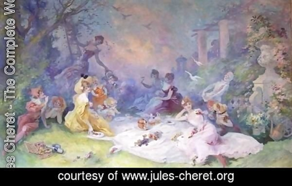 Jules Cheret - The Picnic